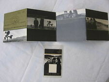 U2 Crew Deluxe livret Londres 1987 + passeport original First time on eBay ultra rare