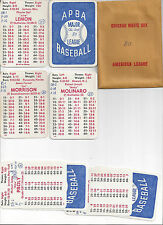 APBA 1980 Chicago White Sox Baseball Complete set of  20 cards