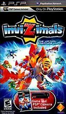 INVIZIMALS VIRTUAL CREATURE SONY PLAYSTATION PORTABLE (PSP) GAME ONLY TESTED