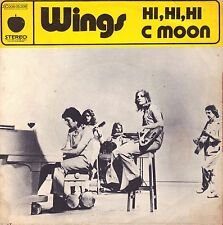 "7"" Wings (Paul McCartney /Beatles) – Hi Hi Hi // Rare French 1972"