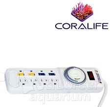 Power Center Day/Night Single Dial Aquarium/Terrarium Light Strip Timer Coralife