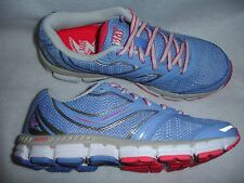 361 One Degree Beyond Volitation Women Running Shoe New Size 7 Blue Pink Silver
