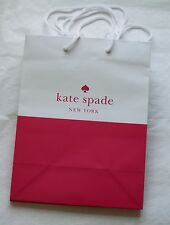 Set of 3  Kate Spade Paper Shopping Gift Bags 7.75 x 9.75 NEW