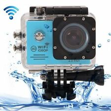 "Blue SJ7000 2.0"" LCD Sports Diving DV Camera Recorder 1080P Wifi as GoPro Travel"