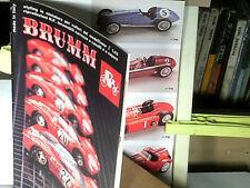 CATALOGUE BRUMM 1987 VEHICULES VAPEURS/ FERRARI/ FIAT/LANCIA/GORDON BENETT