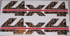 4X4 #3 2 color M4 Camo Bed Side Decals decal Stickers Chevy GMC 1500 2500 3500