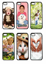 Personalized Custom iphone 5 case any text picture photo hard cover case clear