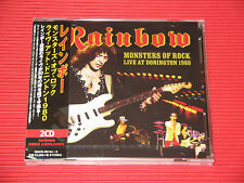 RAINBOW Monsters Of Rock Live At Donington 1980 JAPAN 2 CD SET