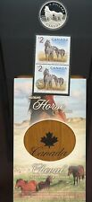 2006 Canada $5 Sable Island Horse & Foal - Coin and Stamp Set   MP24