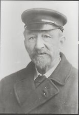 Lundy Islands. Photograph of Postmaster Mr Fredrick Allday, appointed 1898.