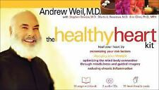NEW- FS-  THE HEALTHY HEART KIT, ANDREW WEIL, MD. workbook, 2 audio cd's healt