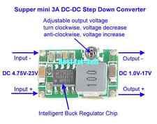 DC-DC 4.75~23V To 3.3V 5V 6V 9V 12V Buck Step down Power Supply Converter module