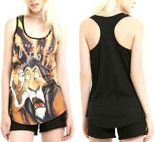 2X Disney Villain The Lion King SCAR punk gothic TANK TOP shirt plus torrid bow
