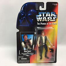 Star Wars POTF2/HAN SOLO (ANH) Action Figure/Kenner 1995/Orange Card MOC/NEW!