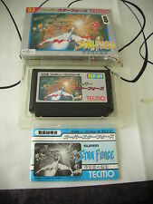 SUPER STAR FORCE SHOOT THEM UP NES FAMICOM JAPAN IMPORT COMPLETE IN BOX!