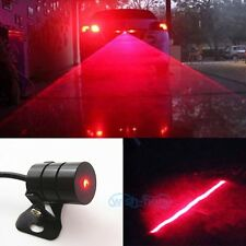 Red Car Led Laser Fog Light Rear Anti-Collision Brake Tail Warning Lamp For BMW