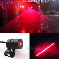 Red Car Led Laser Fog Light Rear Anti-Collision Brake Tail lights Warning Lamp O