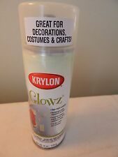 NEW Krylon Glowz Spray Paint 6 oz. Glow in the Dark Crafts Decorations Costumes