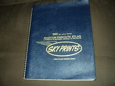 1980 19TH ANNUAL ED. SKY PRINTS AVIATION ENROUTE ATLAS FRANK TALLMAN MEMORIAL