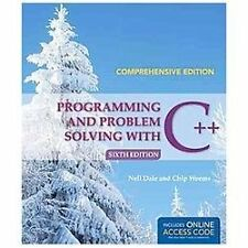 Programming and Problem Solving with C++: Comprehensive by Chip Weems and...