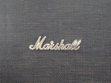 Marshall White/Gold Script Logo 8 (150mm)