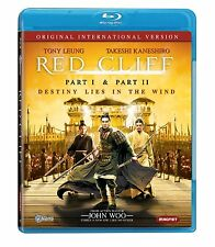 RED CLIFF : Parts 1 & 2 (John Woo) -  Blu Ray - Sealed Region free
