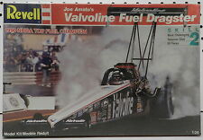 JOE AMATO VALVOLINE 1990 NHRA DRAG TOP FUEL DRAGSTER SLOT CAR REVELL MODEL KIT