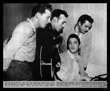 MILLION DOLLAR QUARTET-Elvis Presley, Jerry Lee Lewis, Carl Perkins, Johnny Cash