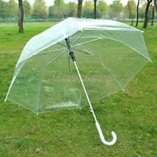 Clear Transparent Rain Umbrella Parasol PVC Dome for Wedding Party Favor