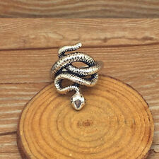NEW for Men's 316l stainless steel Fashion Punk design snake ring US size9 T28
