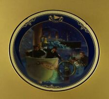 Titanic: Queen Of The Ocean ALL HANDS ON DECK Plate #11 MIB + COA James Griffin