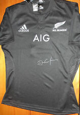 Dan Carter signed NZ All Blacks 2015 jersey - Man of Match - RWC Final 2015