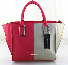 New Girls Ladies Official Key West Satchel Purse Shoulder Handbag Coral Grey
