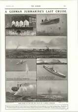 1917 Life And Death Of A German Submarine Third Italian Army Retreats