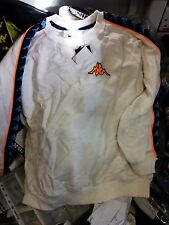 KAPPA SWEATSHIRT IN SIZE/ 26/28 INCH WHITW/NAVY AT £!0 BNWL SHOP SOILED