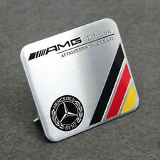 Aluminum Mercedes Auto logo refitting Benz Car Round Sticker Deal New