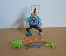 1990 TMNT Teenage Mutant Ninja Turtles figure Scumbug - 100% complete