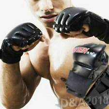 Pro MMA UFC Ultimate Fight Grapple Punching Bag Half Mitts Boxing Gloves Fitness