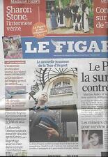 LE FIGARO N°20551 28/08/2010 SARDOU/ TOUR D'ARGENT/ FARC/ AUBRY&ROYAL/SCHUMACHER