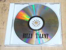 Billy Talent CD advance copy different song order promo self titled