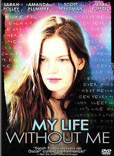 My Life Without Me, Excellent DVD, Scott Speedman, Mark Ruffalo, Sarah Polley, D