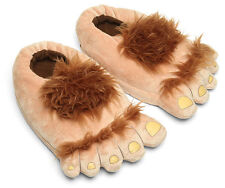 Novelty Hairy Plush Hobbit Feet Adventure Costume Furry Adventure Slippers Shoes