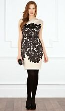 Bnwt *Coast* Artem Duchess Satin Dress , Black (size Uk 10)