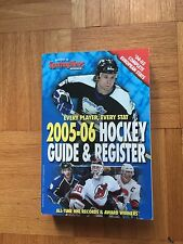 The Sporting News Hockey Guide & Register 2005-2006 Edition NHL