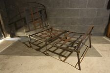Late 19th century Campaign Chair Day bed