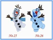 400 BLESSING Good Girl Bug Hair Bow Clip FROZEN Character Snowflake