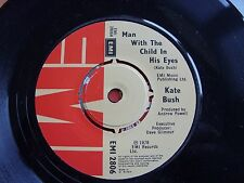 Kate Bush The Man With The Child In His Eyes UK Vinyl Single Excellent