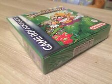 warioland 4 wario land PAL NEUF NEW blister nintendo game boy advance GBA DS