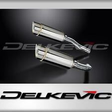 STAINLESS MINI 200mm ROUND SILENCER EXHAUST YAMAHA R1 YZFR1 YZF-R1 2004 2005 06