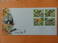 2010 FDC Singapore First Day Cover - Butterflies